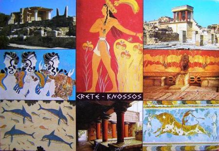 Knossos postcard 2