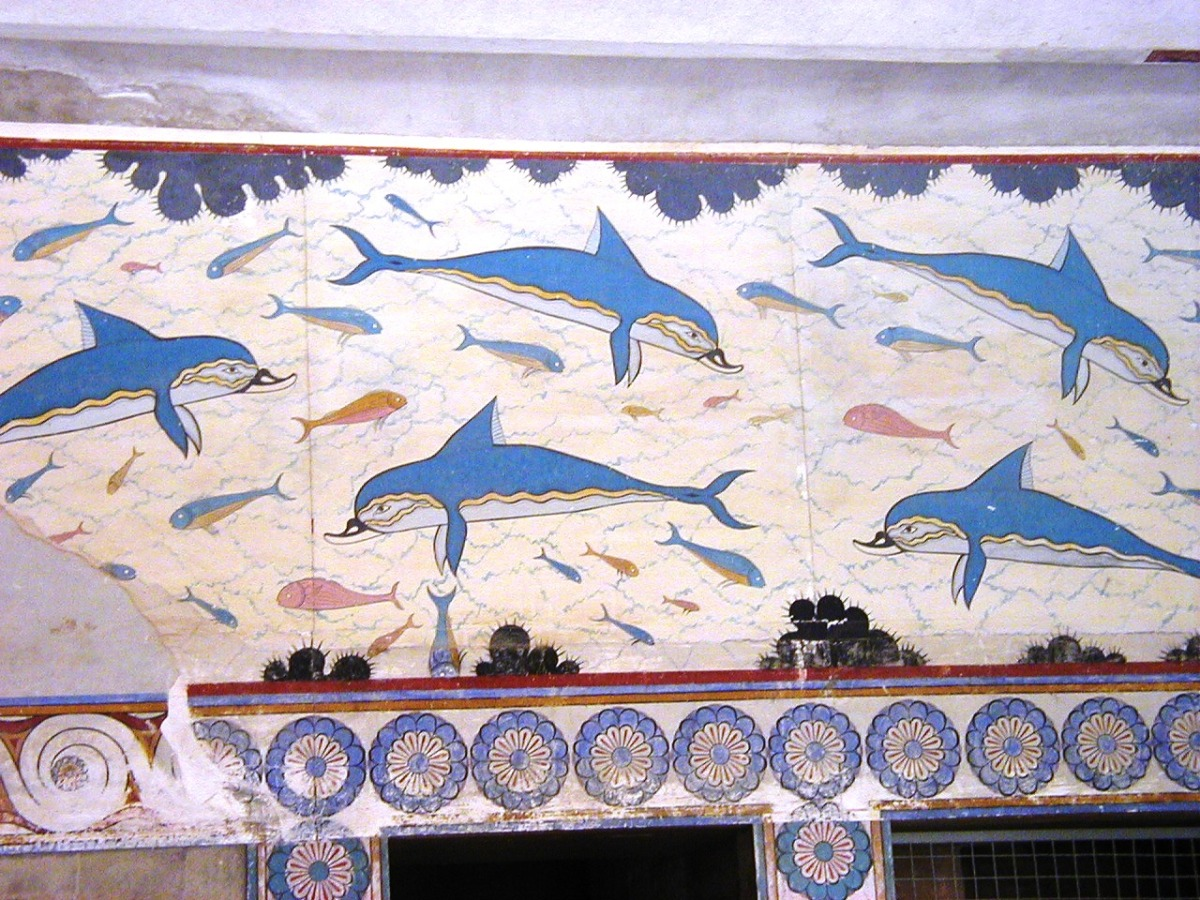 Crete – The Palace of Knossos and the Minotaur