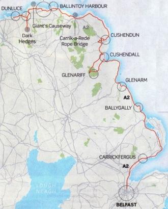Ireland A2 Road Trip