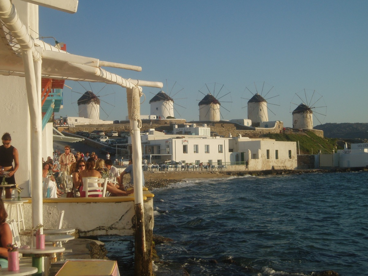 The Greek Islands - Mykonos and Shirley Valentine