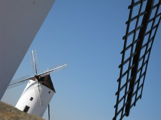Spain Windmill La Mancha