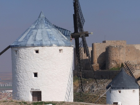 Consuegra Castle and Windmill