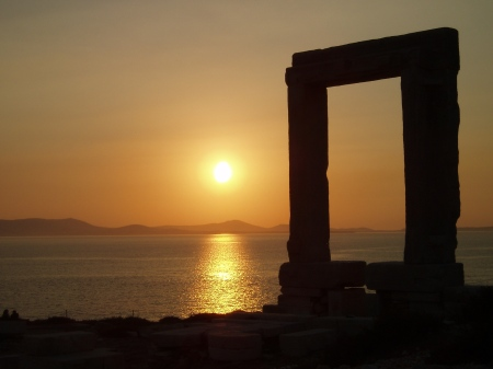 Naxos Sunset Cyclades Greece
