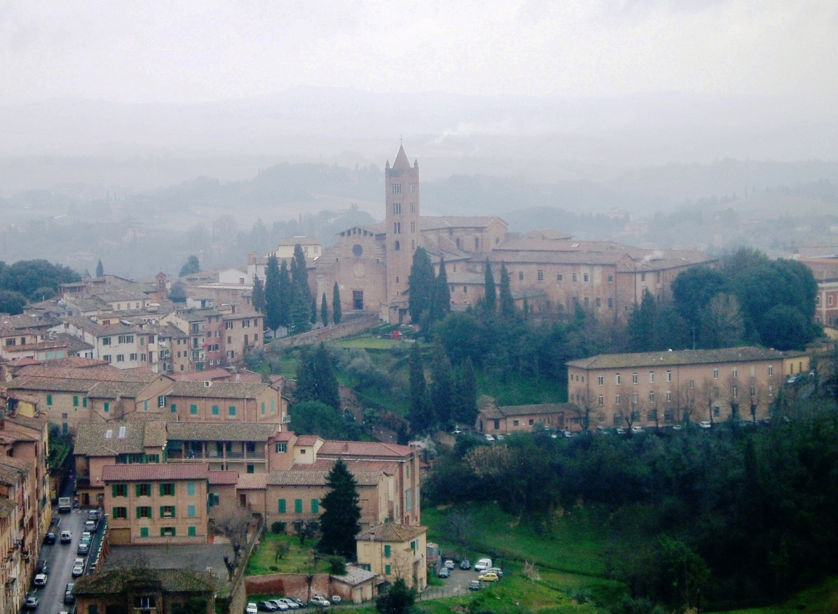 Tuscany, Siena in the Rain