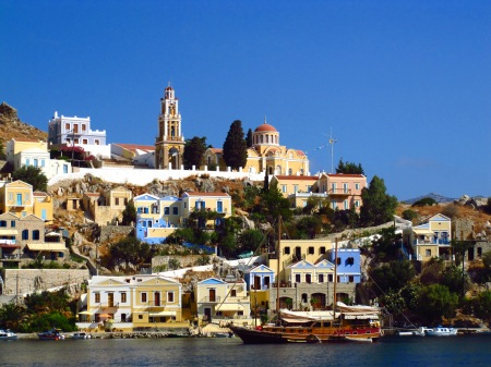 Symi Greek Islands Dodecanese