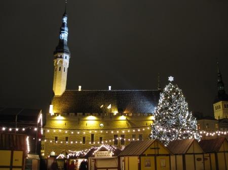Tallinn Estonia Christmas Market