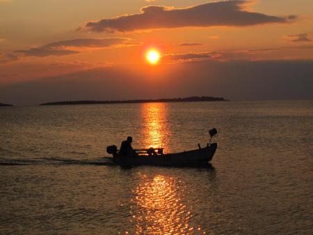 Fazana Croatia Sunset