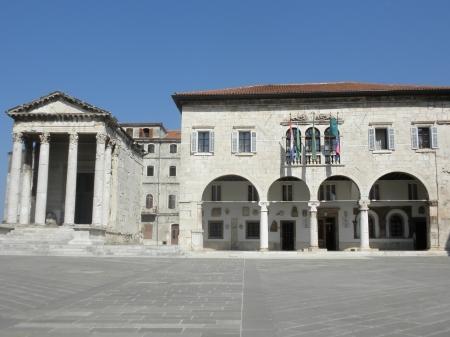 Pula Istria Croatia Main Square