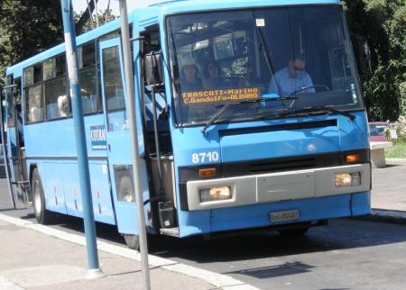 Marino Frascati Albano Bus