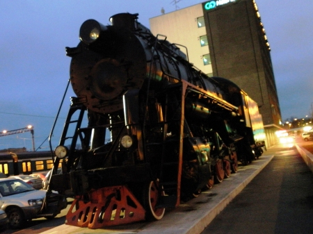 Tallinn Russian Railway Engine Soviet Steam Engine L2317