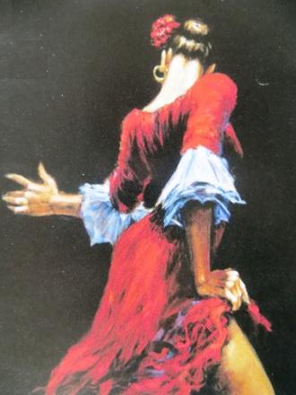 Spain Flamenco Dancer