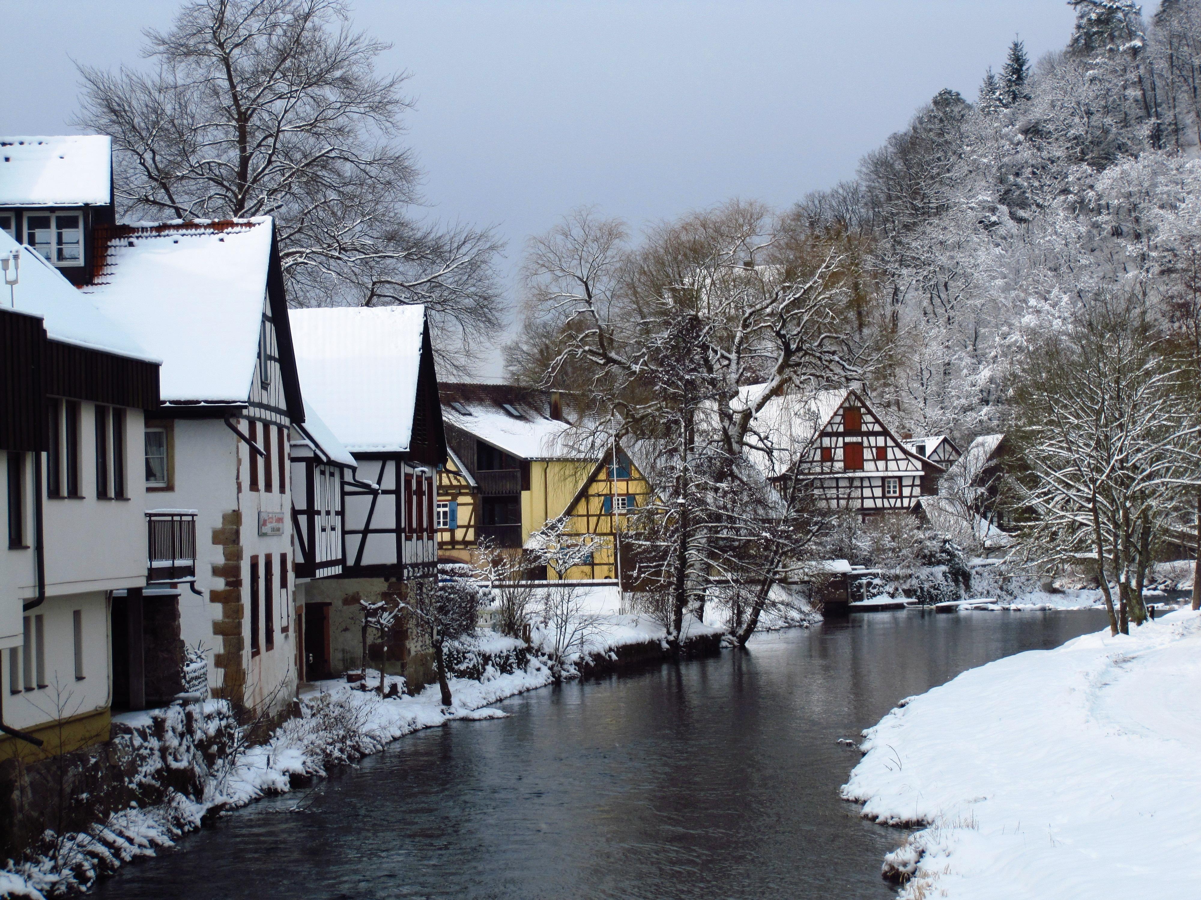 Christmas village houses 14