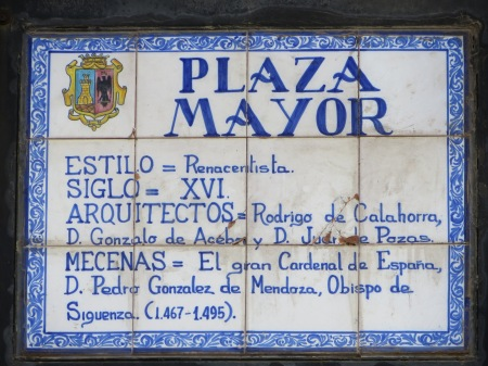 Plaza Mayor Siguenza Castilla-La Mancha