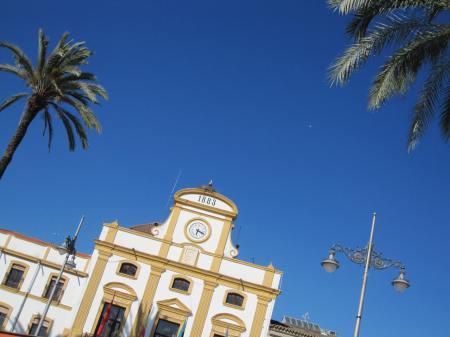 Merida Plaza Mayor Extremadura