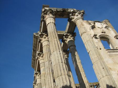 Merida Extremadura Spain Temple of Diana