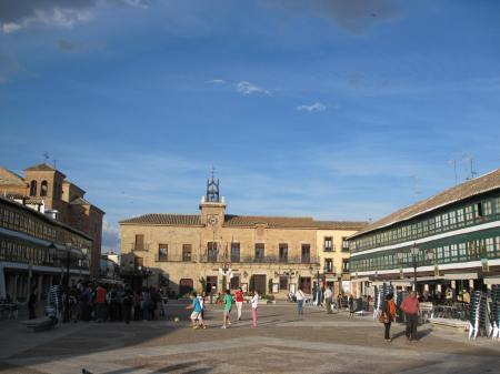 Almagro Plaza Mayor Spain