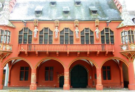 Freiburg Merchants Hall Münsterplatz