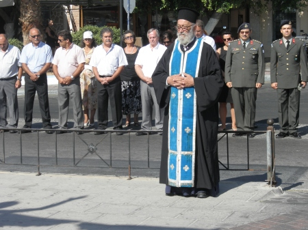 Kalymnos Rememberance Service