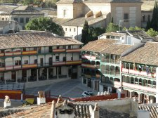 Chinchon Spain Plaza Mayor