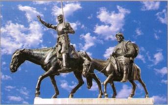 Don Quixote Spain Madrid