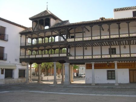 Tembleque Plaza Mayor Spain