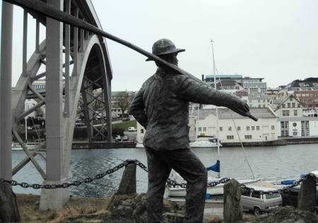 Haugesund Fisherman Statue