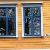 Yellow House Windows Haugesund Norway