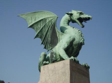 Dragon Bridge Ljubljana