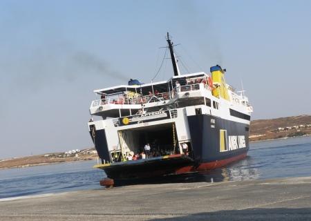 Greek Ferry Artemis in Paros