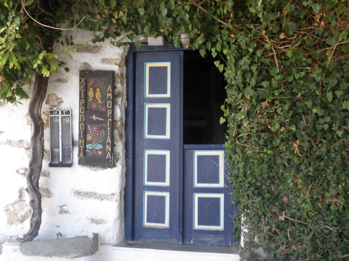 Blue Doors and Windows