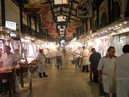 Athens and the Varvakios Agora (Central Market)