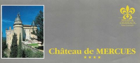 Chateau de Mercures Cahors