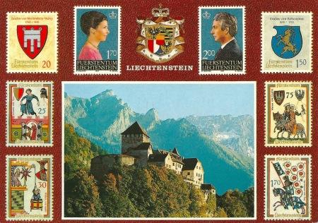 Liechtenstein Postcard