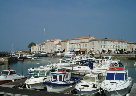 Saint Martin-de-Ré on the Ile de Ré