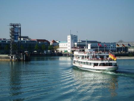 Friedrichshafen to Romanshorn Ferry