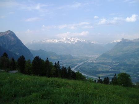 Liechtenstein The Alps