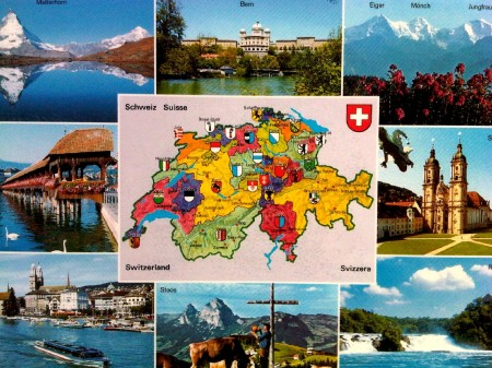 Switzerland Postcard