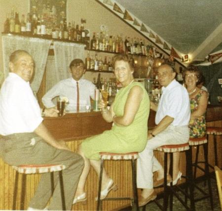 Benidorm Bar c1960
