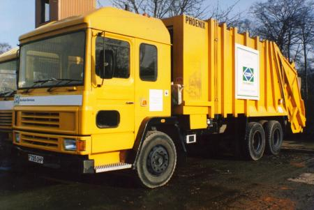 Cory Environment Waste Collection Vehicle