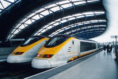 Eurostar at Waterloo