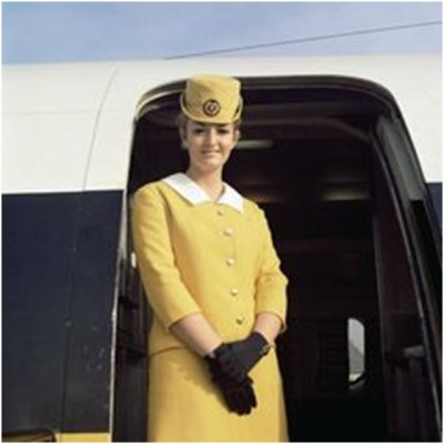 Monarch stewardess