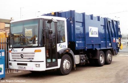 Refuse Truck Sita