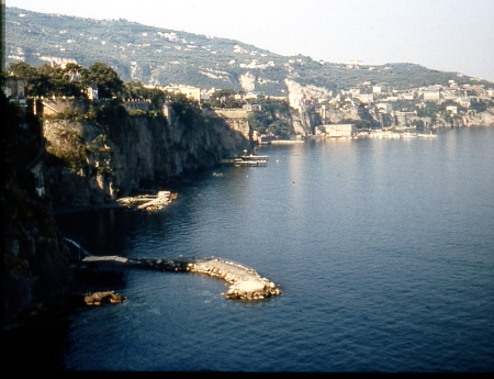 Sorrento from the cliff tops