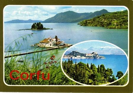 Corfu Postcard 1984