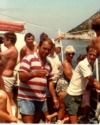 George George's Boat 1984