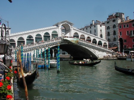 Grand Canal Venice Rialto Bridge