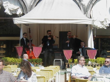 Venice St Mark's Square Orchestra