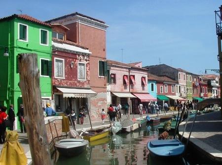 Burano Venice Italy