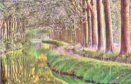 Beziers Canal Du Midi