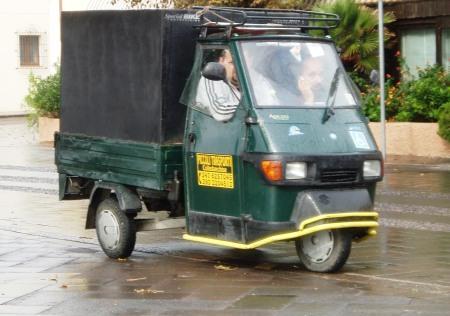 Street Cleaners Alghero Sardinia